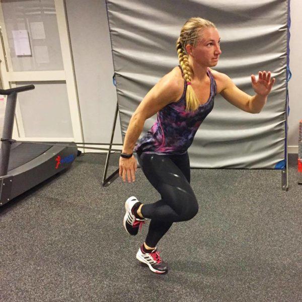 sprint med gummiband 1