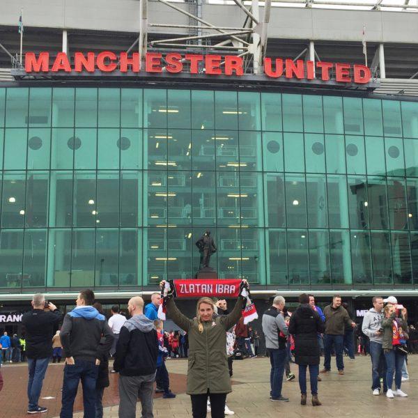 Vickan vid Old Trafford