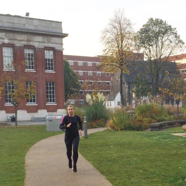 Löpning University of Manchester
